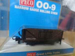 Mint sealed Peco 00-9 Open Wagon Brown unlettered