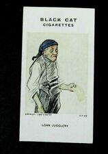 Rare Carreras Black Cat Cigarette Card - Reameaker's WW1 War Cartoons 1916 # 76