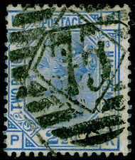 SG157, 2½d blue PLATE 23, USED. Cat £35. PK