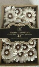 Prima Flowers Scrapbook Crafts Rodanthe Seashell