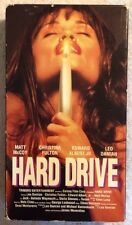 Hard Drive (Prev. Viewed VHS, 1996) Matt McCoy Christina Fulton RARE EROTIC