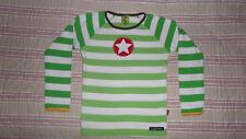 tee shirt  haut vert  manche  longue VILLERVALLA 6 ans - 116 cm motif étoile