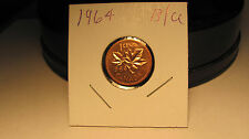 1964    Uncirculated Canadian penny LOWEST PRICE ON EBAY!!