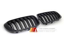 Gloss Black Dual Slat Front Kidney Grilles for BMW F25 X3 LCI F26 X4 28I 35I X4M