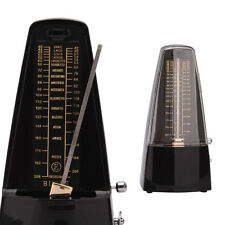 New ENO Pro Transparent Metal Mechanical Music Metronome Instrument Black