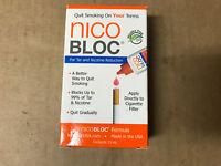 NicoBloc Quit Smoking Cessation15 mL Tar Nicotine Reduction Aid STOP SMOKING AID