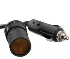 12V/24V 5 M Cable de extensión de encendedor de cigarrillos coche zócalo adaptador de cable de plomo