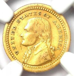1903 Jefferson Louisiana Gold Dollar G$1 - Certified NGC XF Details - Rare Coin!