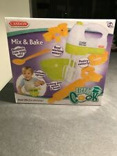 Casdon Little Cook Mix & Bake Set - With Real Working Mixer - BRAND NEW