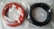 10m Red + 10m Black Stranded 16/0.2mm Equipment Hookup Wire, Arduino Railway 20m