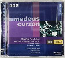 """Brahms Quintet, Schubert """"Trout"""", Curzon / Amadeus Quartet, New 2 CDs, RARE OOP"""