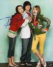 MITCHEL MUSSO HANNAH MONTANA DISNEY SIGNED 8X10 PICTURE