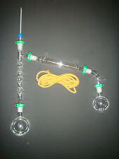 500ml Distillation Apparatus,vacuum distillation kit with Vigreux ,24/40 jiont
