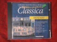 MOZART- I GRANDI MAESTRI DELLA MUSICA (DE AGOSTINI). CD