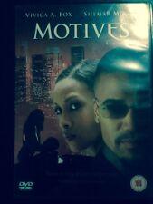 MOTIVES - DVD  *VIVICA A FOX* Shemar Moore* Joe Torry* 2003* Region 2