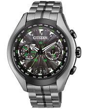 Citizen CC1055-53E Eco-Drive Waive Air Titanium Satellite Watch RRP $2999