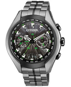 Citizen CC1055-53E Eco-Drive Waive Air Titanium Satellite Watch NEW RRP $2999