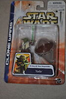 STAR WARS CLONE WARS ARMY OF THE REPUBLIC YODA 2003 #44 MOSC