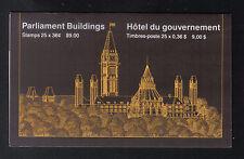 Canada 1987 $9 Booklet SG SB102 MNH 25 x 36c Parliament Buildings