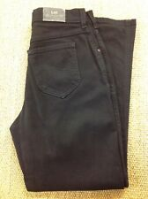 woman's LEE 30W 29L Black Stretch Tapered Jeans. Great Cond.