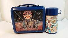 VINTAGE ADVENTURES OF THE GALAXY RANGERS 1986 Plastic Lunch Box with Thermos