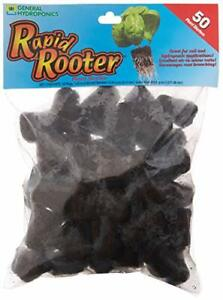 General Hydroponics HGC714135 Rapid Rooter Plant Starters 50 Plugs