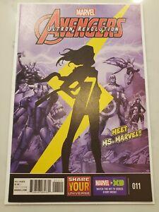 Avengers Ultron Revolution #11 1st Animated Kamala Khan Ms Marvel NM