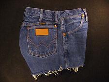 Wrangler Vintage CUTOFF JEAN SHORTS Cut Off High Waisted W 29 MEASURED Hot Pants