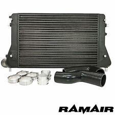 RAMAIR Black 2.0 TFSI Front Mount Intercooler & Boost Hoses - FMIC K03 Golf VAG