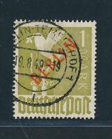 BERLIN 1949, Mi. 33 gestempelt, Höchswert mit KB BPP!! Mi. 550,--!!
