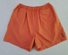 Vintage Reebok Orange Running Athletic Warm-up Soccer Shorts Women's XLarge YV