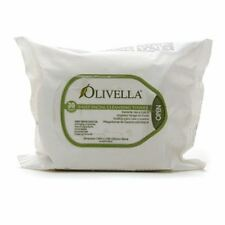 Olivella Daily Facial Cleansing Tissues 30 ea (Pack of 3)