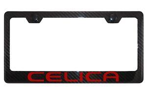 Toyota Celica Carbon Fiber License Plate Frame