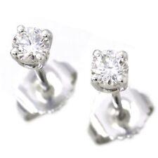 TIFFANY Co. Diamond 0.31ct Earrings Pt Platinum 90105580