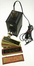 Original VEDES Lanterne MAGICA Projecteur avec 33 clichés, pour 1900