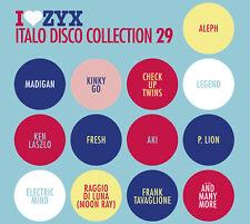 CD ZYX Italo Disco Collection 29 von Various Arttists 3CDs