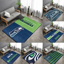 Seattle Seahawks Rugs Anti-Skid Area Rug Living Room Bedroom Floor Mat Carpet