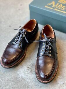 Rare Alden David wood The Franklin Shoes Barrie Last 9D