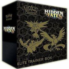 Pokemon Hidden Fates Elite Trainer Box Brand New Sealed UK 10 Booster packs