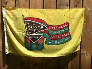 Oliver Farm Equipment Company Vintage Flag Hart-Parr Collectors Ass. Nichols