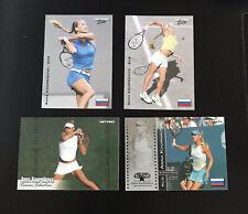 Anna Kournikova 2003 Netpro Rookie Card RC Tennis Lot of 4 Different
