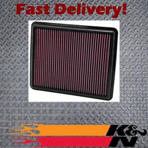 K&N 33-2448 Air Filter suits Kia Sportage QL Hyundai G4KJ (DOHC 16 Valve)