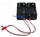 2pcs Battery Box Of Receiver Holder Case 4 AA 6v For RC Model JST Plug