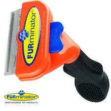 Short Hair deShedding Brush for Medium Dogs 21-50Lbs Edge Blade FURminator