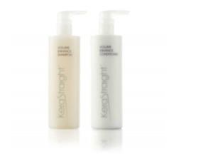 Kerastraight Volume Enhance Shampoo & Conditioner Duo 2 x 500ml + PUMPS