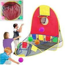 Children Play Scoring Basketball Tent Ball Pool Outdoor Sport Best Kid Toy LH