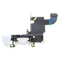 Flex Conector Dock de Carga USB Jack Microfono Original iPhone  6s 6 S Blanco