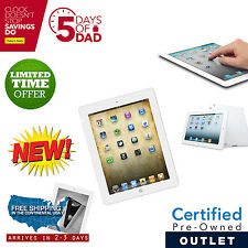 New iPad 2 16GB White WiFi  +3G AT&T with 1 Year Warranty