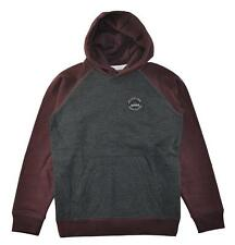 Quiksilver Big Boys, Dark Gray Hoodie Size 12 (Medium)