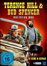Terence Hill & Bud Spencer - Kultstar Box 5 DVDs 13 Filme NEU OVP